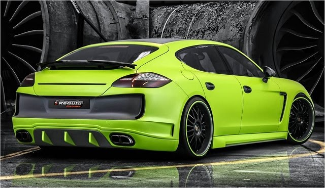Regula Exclusive Porsche Panamera Rear