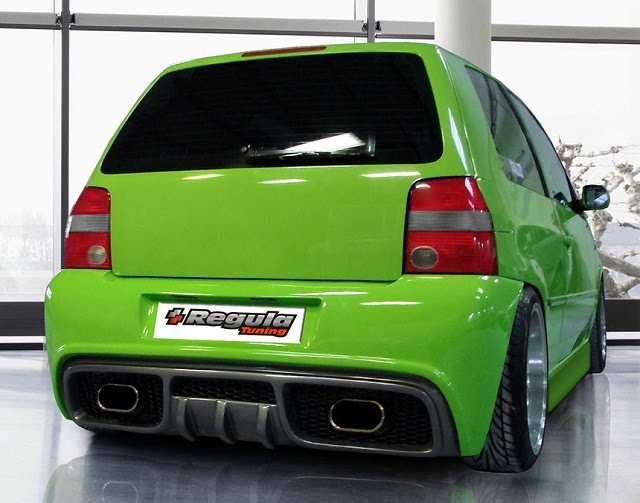Regula Tuning Volkswagen Lupo Rear