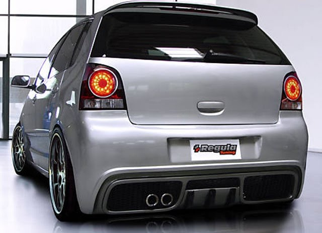 Regula Tuning Volkswagen Polo Rear