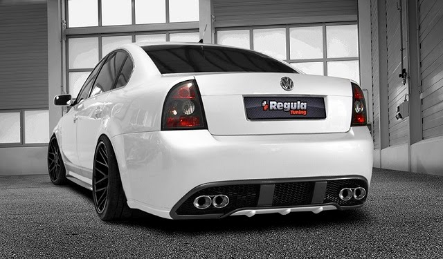 Regula Tuning Volkswagen Passat 3BG Sedan Rear