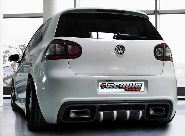 Regula Tuning Volkswagen Golf5 GTA Rear