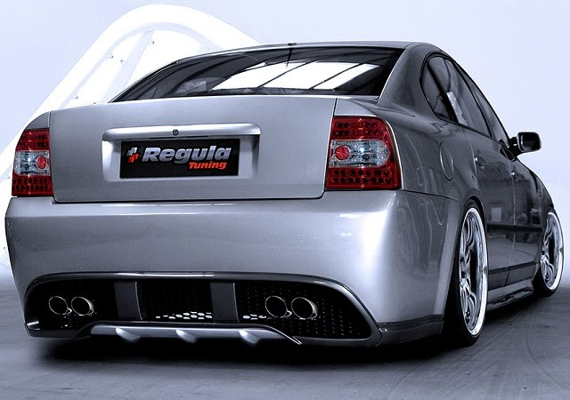 Regula Tuning Volkswagen Passat 3B Sedan Rear
